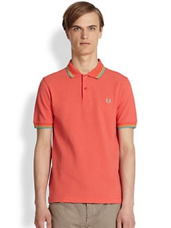 Fred Perry - Slim-Fit Tipped Polo