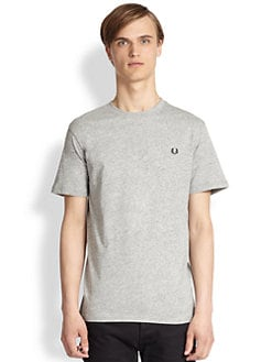 Fred Perry - Cotton Crewneck Tee