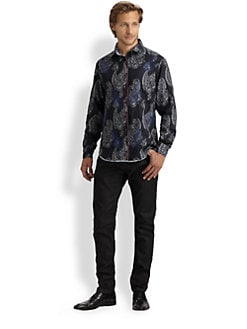 Robert Graham - Tahoe Woven Cotton Sportshirt