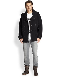 Diesel - Lincio Knit Sweater Coat