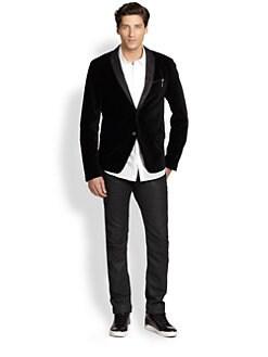 Diesel - Velvet Tuxedo Jacket
