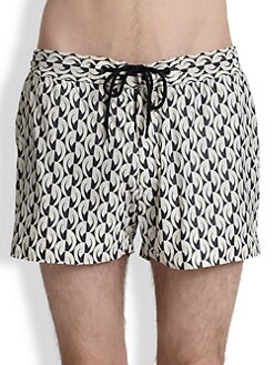 Marc by Marc Jacobs - Bellflower Swim Trunks