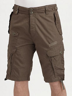 Diesel - Poplin Twill Shorts