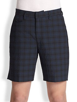 Marc by Marc Jacobs - Easton Seersucker Check Shorts