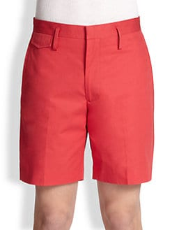 Marc by Marc Jacobs - Harvey Twill Cotton Shorts