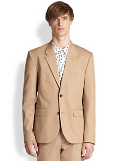 Marc by Marc Jacobs - Harvey Twill Cotton Blazer