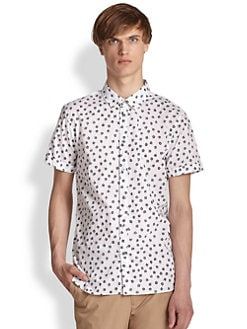 Marc by Marc Jacobs - Anderson Flower Sportshirt