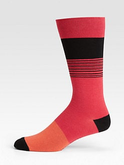 Marc by Marc Jacobs - Dylan Stripe Socks