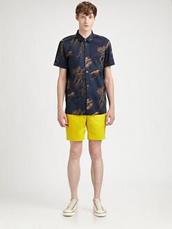 Marc by Marc Jacobs - Printed Cotton Sportshirt