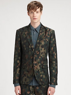 Marc by Marc Jacobs - Monty Camo Jacquard Jacket