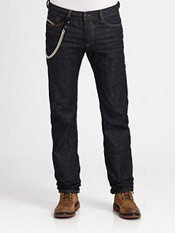 Diesel - Waykee Straight-Leg Denim Jeans