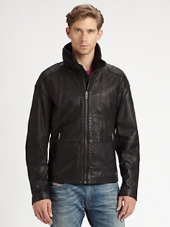 Diesel - Literal Leather Jacket