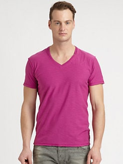 Diesel - Slub V-Neck Tee