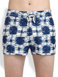 Marc by Marc Jacobs - Sam Printed Swim Trunks