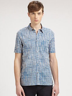 Marc by Marc Jacobs - Andie Checked Sportshirt