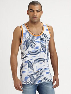 Diesel - Printed Cotton Tank