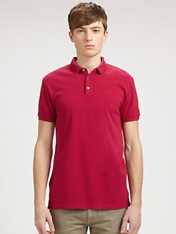 Marc by Marc Jacobs - Cotton Logo Polo