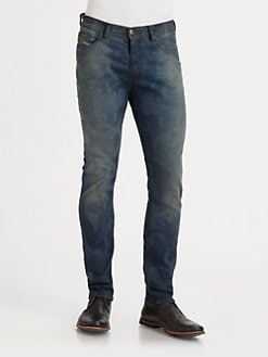 Diesel - Tephar Slim-Straight Denim Jeans