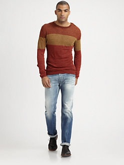 Diesel - Linen Crewneck Sweater