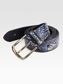 Diesel - Bonce Leather Belt