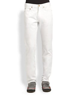 Marc by Marc Jacobs - Five-Pocket Straight-Leg Jeans