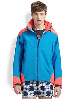 Marc by Marc Jacobs - Jack Hooded Colorblock Jacket