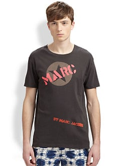 Marc by Marc Jacobs - Logo-Print Cotton Jersey Tee