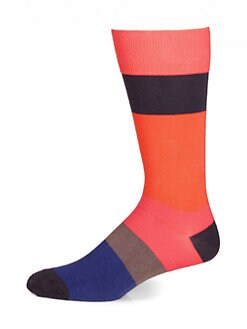 Marc by Marc Jacobs - Striped Crew Socks