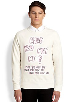 Acne Studios - Have You Met Me Sweatshirt