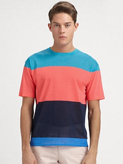 Marc by Marc Jacobs - Patrick Stripe Jersey Tee