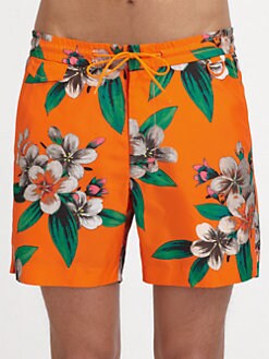 Marc by Marc Jacobs - Dempsey Floral Swim Trunks