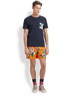 Marc by Marc Jacobs - Floral Combo Tee