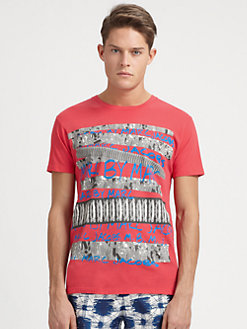 Marc by Marc Jacobs - Marc Graffitti Tee