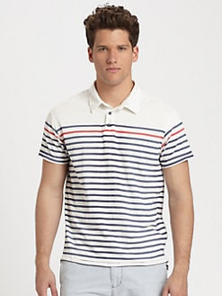 Scotch & Soda - Jersey Striped Polo