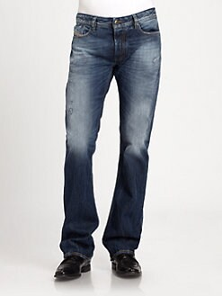 Diesel - Fanker Regular Slim-Fit Denim Jeans