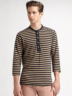 Diesel - Striped Cotton Tee
