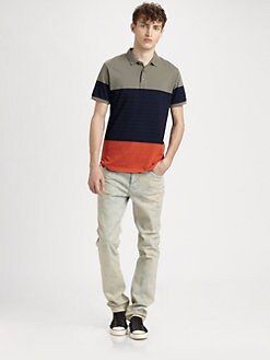 Marc by Marc Jacobs - Colorblock Polo