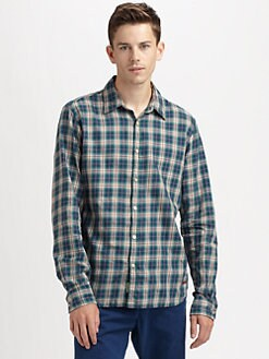 Scotch & Soda - Check Twill Sportshirt
