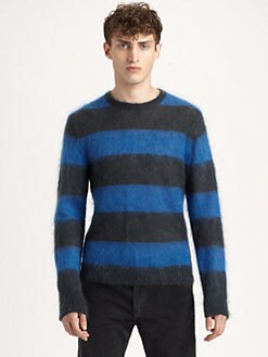 Marc by Marc Jacobs - Stripe Crewneck Sweater