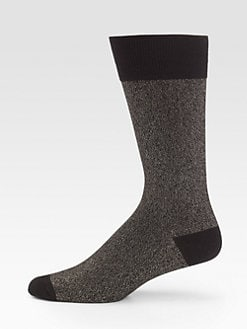 Marc by Marc Jacobs - Lurex Marled Socks