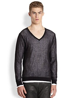 Diesel - Plutone V-Neck Sweater