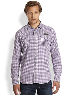 Diesel - Sdanube Gingham Dress Shirt