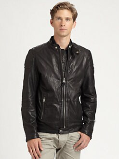 Diesel - Lophophora Leather Jacket