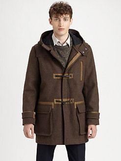 Marc by Marc Jacobs - Gregory Plaid Toggle Coat