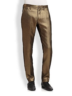 Marc by Marc Jacobs - Verushka Gold Lame Pant
