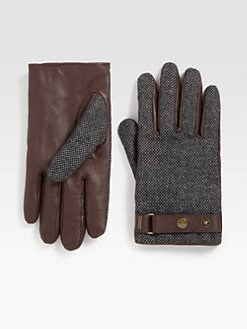 Scotch & Soda - Tweed Gloves