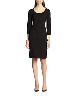 Armani Collezioni - Double Face Jersey Dress