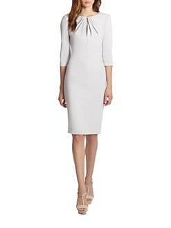 Armani Collezioni - Twist-Front Cady Dress