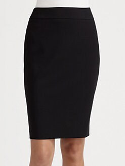Armani Collezioni - Wool Pencil Skirt