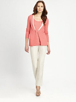 Armani Collezioni - Contrast Trim Cardigan